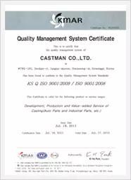 Castman ISO 9001