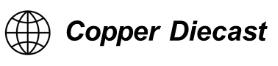 Copper Diecast Logo