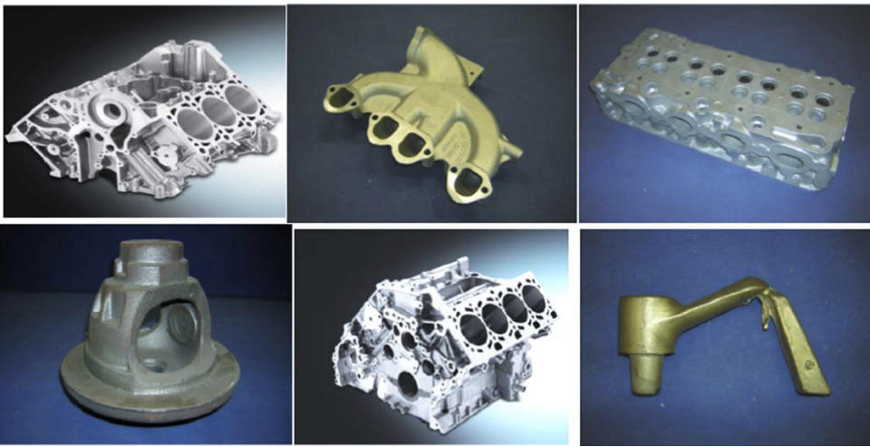 Fig1  Examples of components manufactured with casting core44