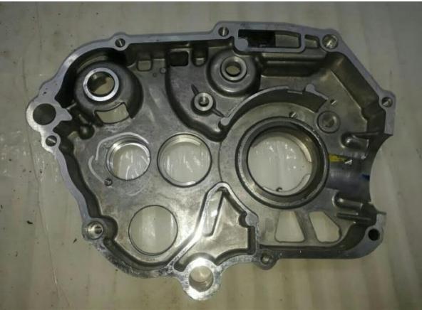 Figure 1. Crank case specimen produced with the HPDC process.