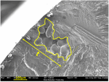 Spatial point pattern methodology for the study of pores 3D patterning in two casting aluminium alloys